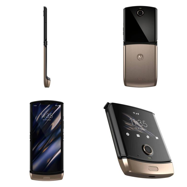Motorola Razr Gold