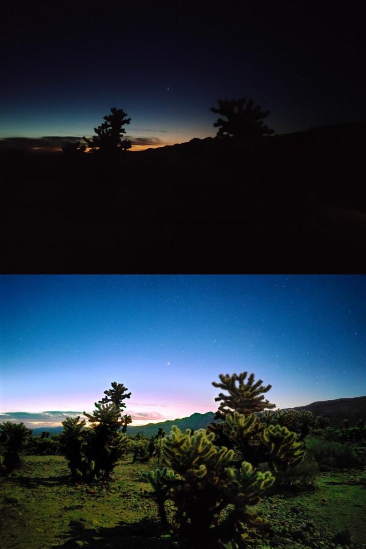 Realme X50 Nachtmodus Beispiel
