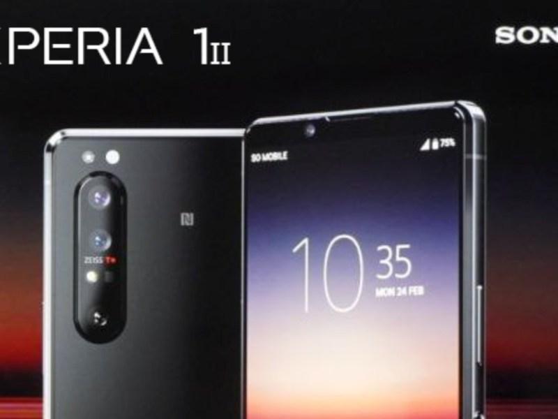 Sony Xperia 1 Ii Leak Teaser