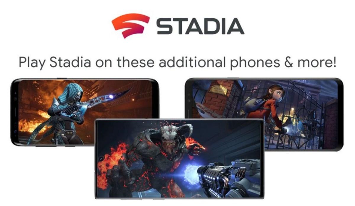 Stadia Weitere Smartphones