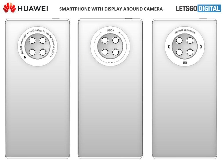 Huawei Mate 40 Display Ring Letsgodigital