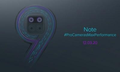 Redmi Note 9 Teaser
