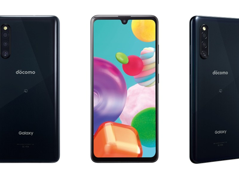 Samsung Galaxy A41 Docomo 2