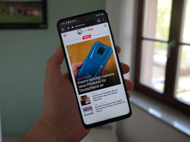 Redmi Note 9S Test