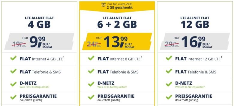 Freenet Mobile April 2020