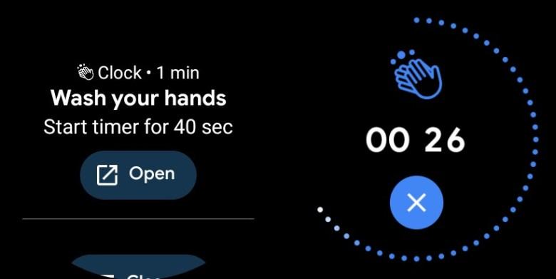 Hände Waschen Wear Os Screenshots