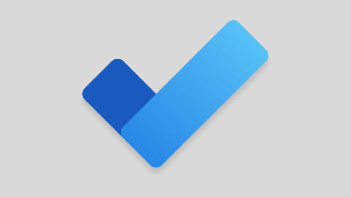 Microsoft Todo Android Header Logo Grey