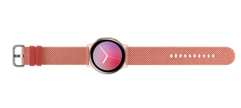 Samsung Galaxy Watch Active2 Kvadrat Strap