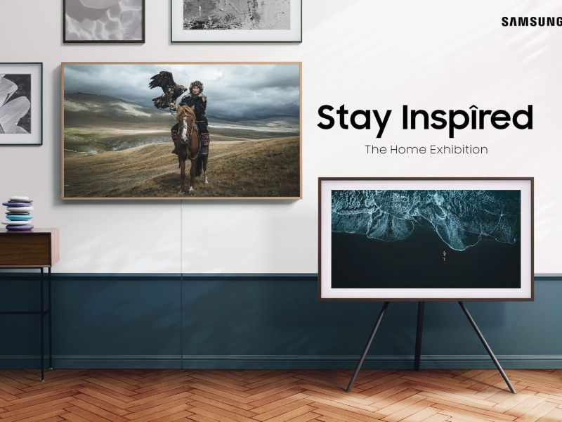 Samsung Stay Inspired Home Exhibition The Frame Header Compressor