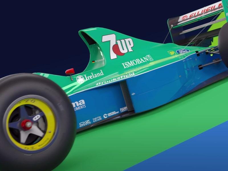 Schumacher Jordan F1 2020