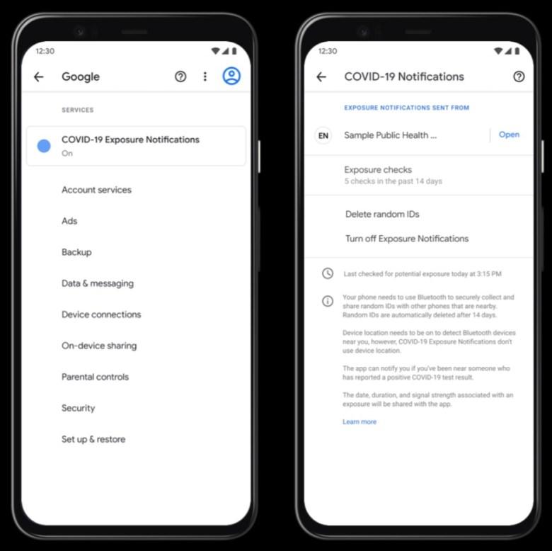 Covid 19 Benachrichtigungen Android Screenshot