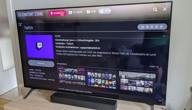 Lg Content Store Twitch