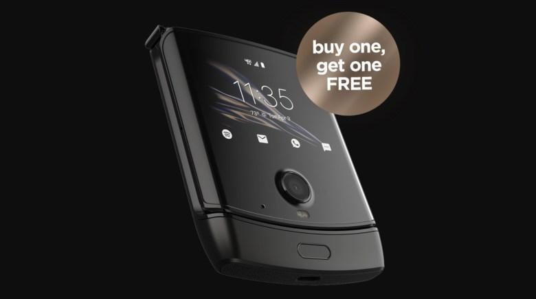 Motorola Razr Buy One Get Two