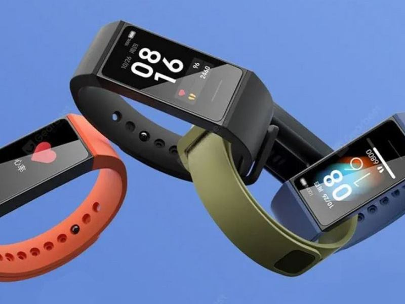 Xiaomi Redmi Band Blue Header