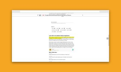 Chrome Plugin Textfragment Header