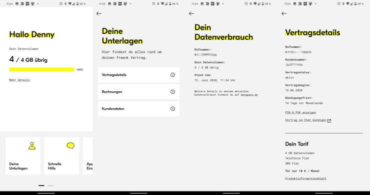 Fraenk App Screenshots (1)