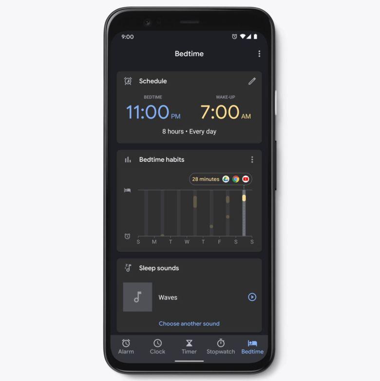 Schlafenszeit Uhr App