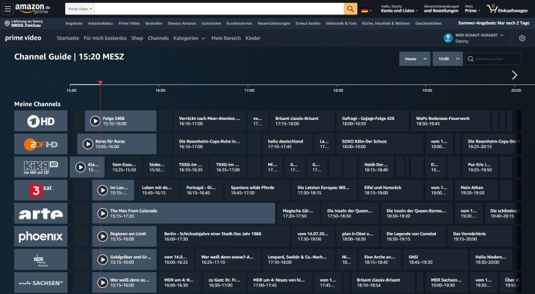 Amazon Live Tv Channel Guide