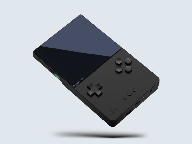 Analogue Pocket Black Header