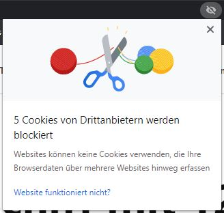 Chrome Inkognitot Drittanbieter Cookies 2