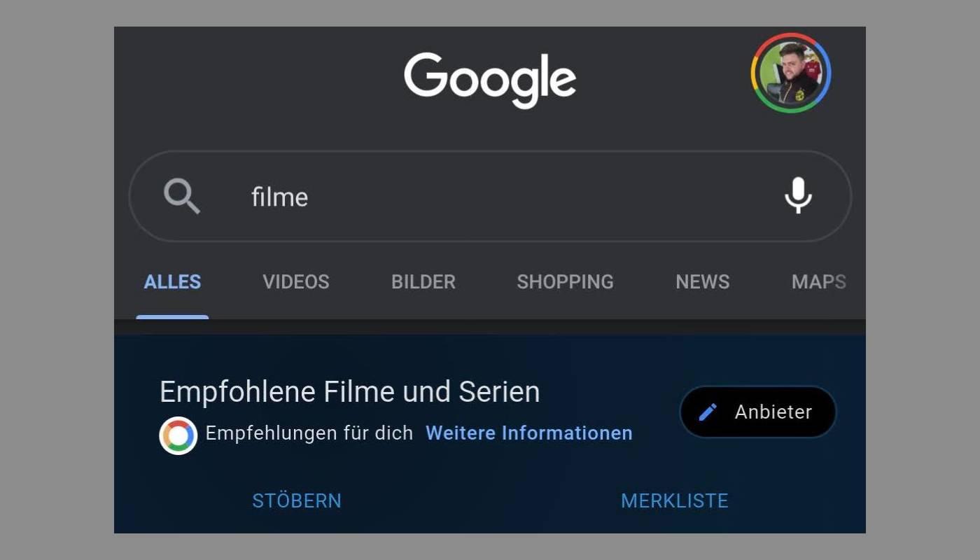 Google Erweitert