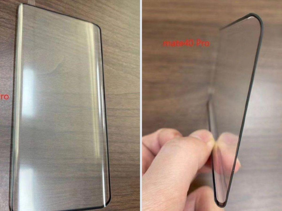 Huawei Mate 40 Pro Display Curve Edge Weibo Header