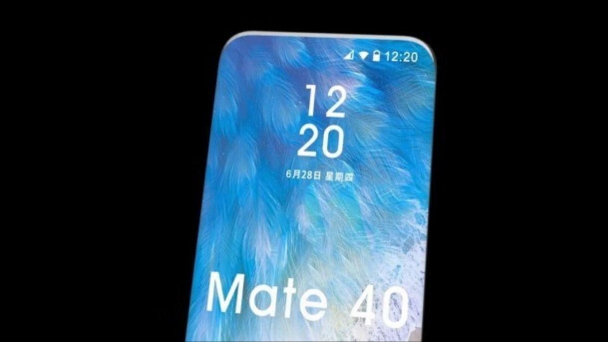 Huawei Mate 40 Render Leak Header