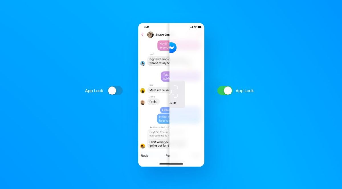 Messenger App Lock