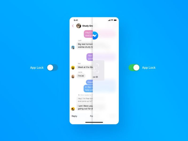 Messenger App Lock
