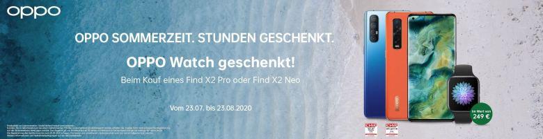 Oppo Watch Geschenkt Sommer 2020 Aktion