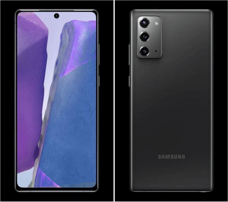 Samsung Galaxy Note 20 Leak Evleaks 2