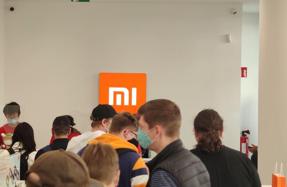 Xiaomi Logo Mi Store Head