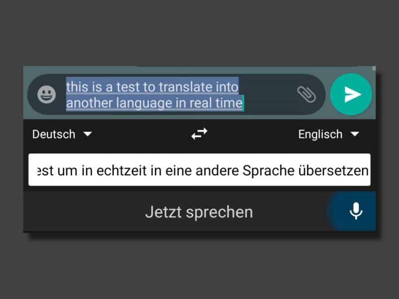 Echtzeit Übersetzung Per Spracheingabe Gboard (2)