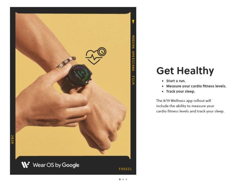 Fossill Wellness App Teaser