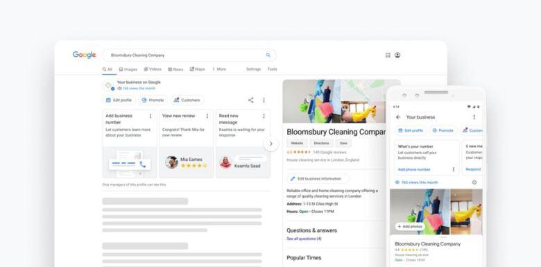 Google Business Direkt In Der Suche