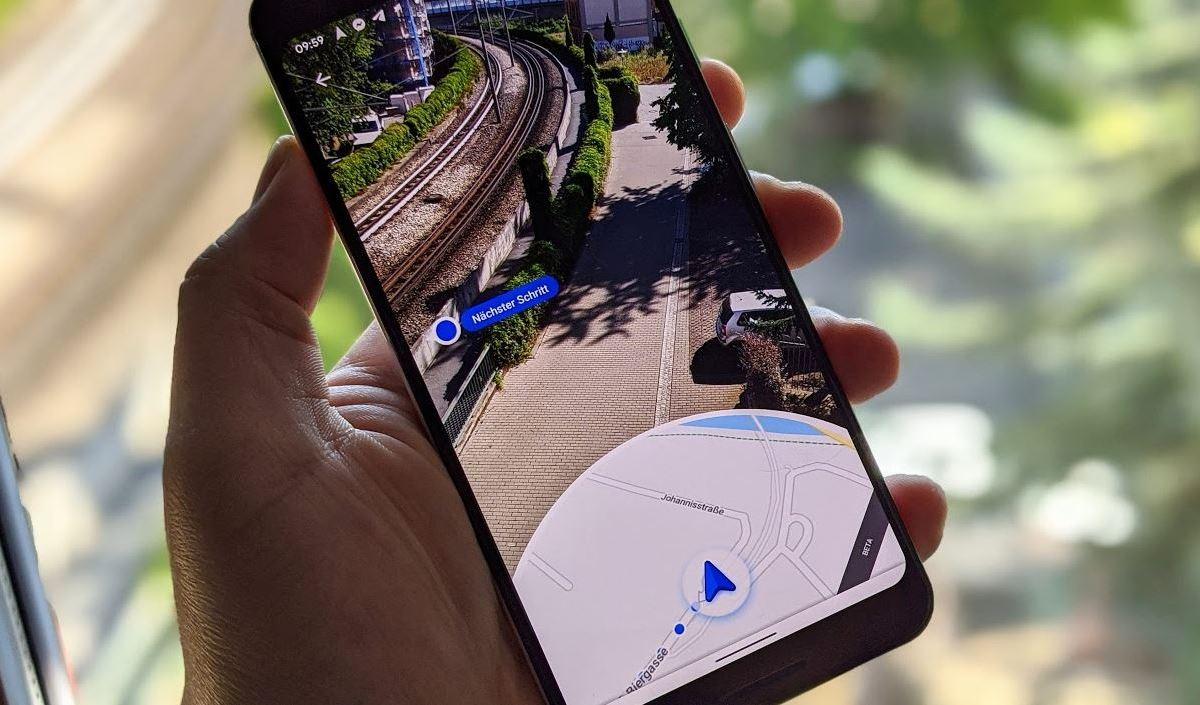 Google Maps Live View Head