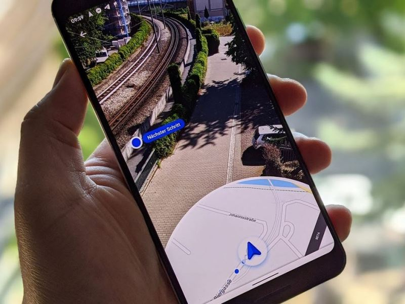 Google Maps Live View Head