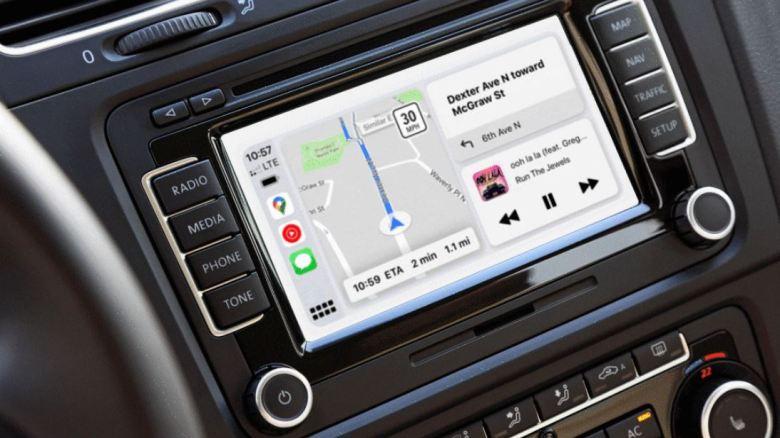 Google Maps Navigation Splitscreen Carplay