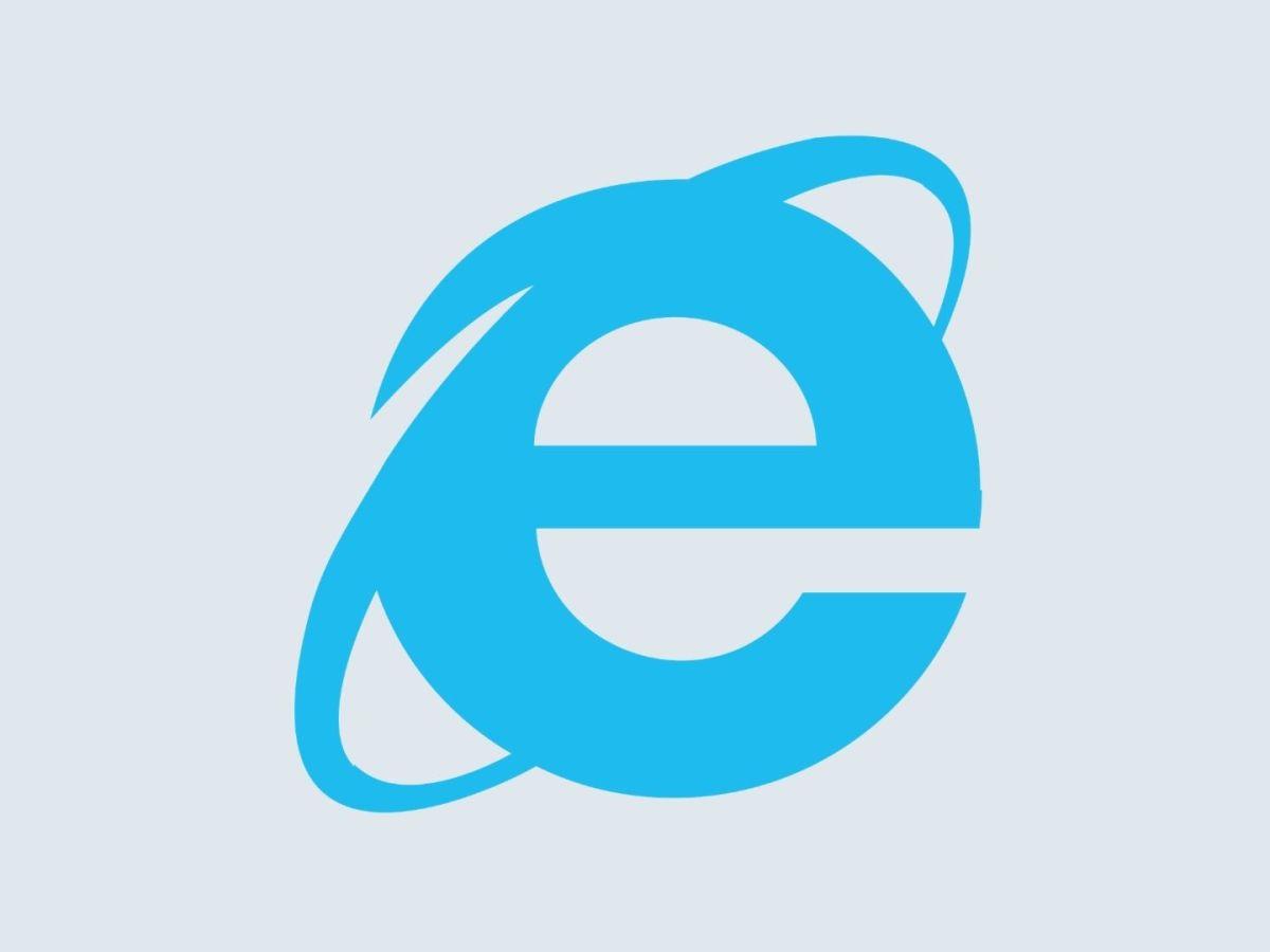 Internet Explorer 11 Logo Header