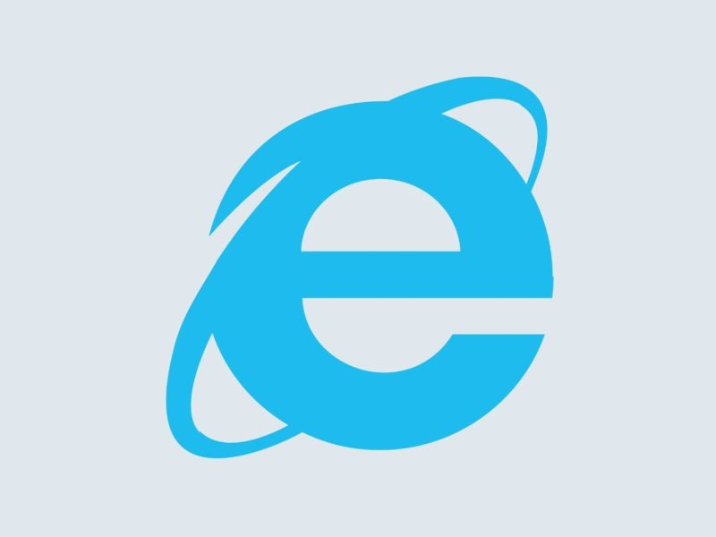 Internet Explorer 11 Logo Header