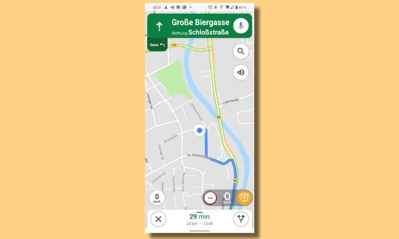 Tomtom Amigo Überlagerung Google Maps