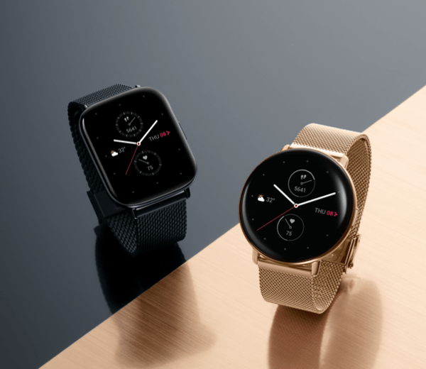 Zepp E Smartwatches Round Square Header