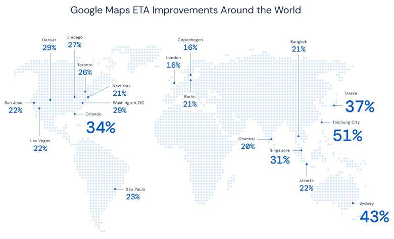 Google Maps Eta Ai Verbesserungen