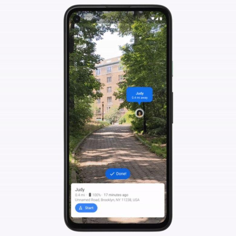 Google Maps Standortfreigabe Live View