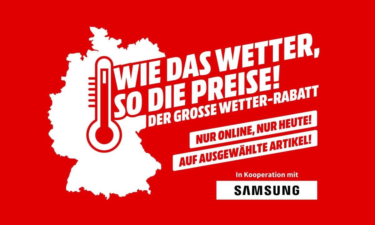 Wetter Deal Mediamarkt Samsung (1)