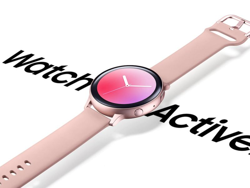 Galaxy Watch Active2 Alu Header