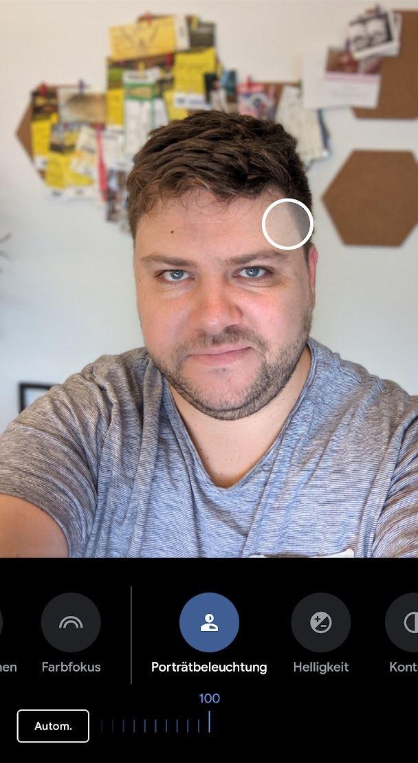 Google Pixel Porträtbeleuchtung (3)
