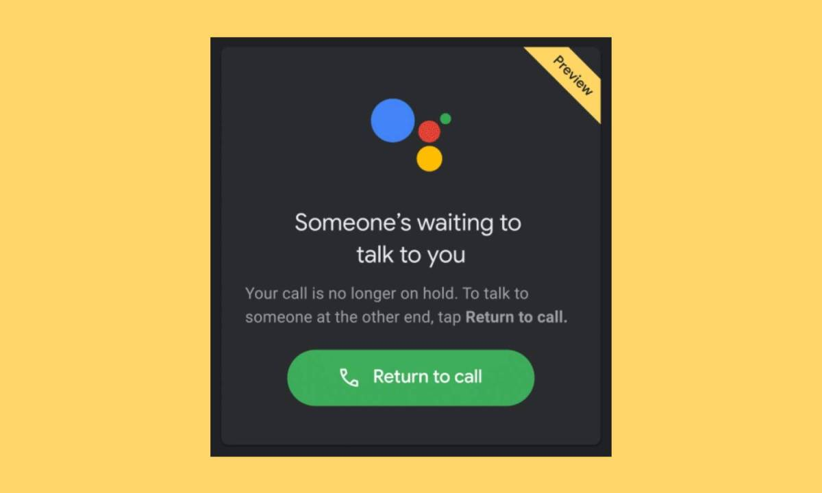 Hold For Me Google Assistant 2