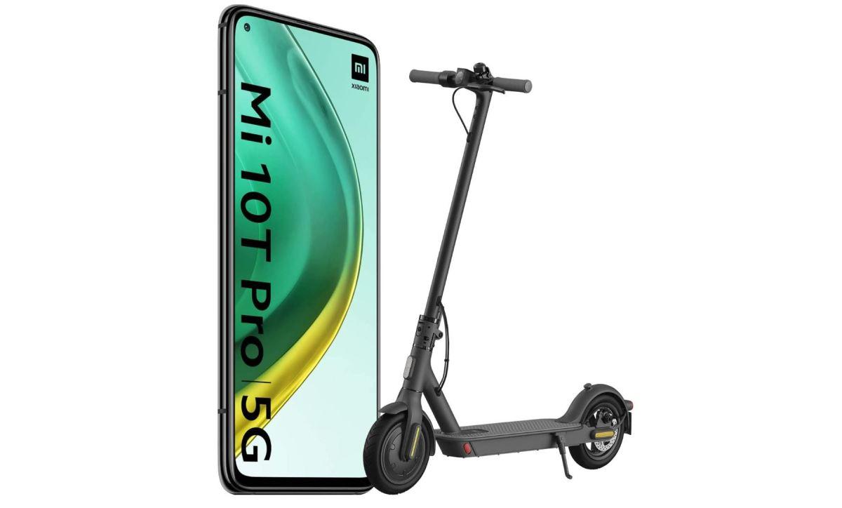 Mi 10t Pro Mit Mi Scooter Bundle