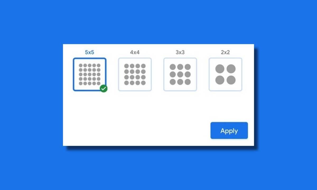 Pixel 5 Launcher Grid Layout